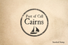 Port of Cairns Rubber Stamp