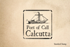 Port of Calcutta Rubber Stamp