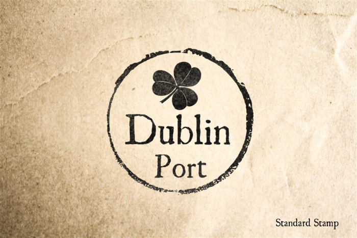 Port of Dublin Rubber Stamp
