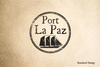 Port of La Paz Rubber Stamp