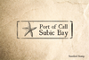 Port of Subic Bay Rubber Stamp