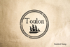 Port of Toulon Rubber Stamp