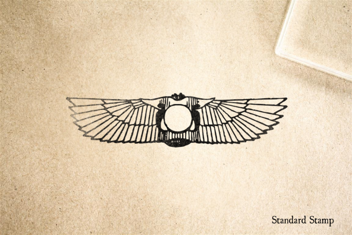 Scarab Rubber Stamp