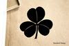 Shamrock Rubber Stamp