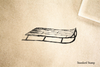 Sled Rubber Stamp