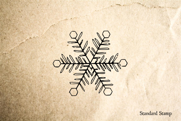 Snowflake 2 Rubber Stamp