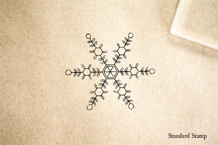 Snowflake 4 Rubber Stamp