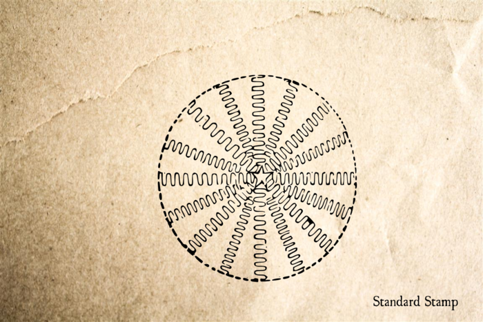 Snowflake 6 Rubber Stamp