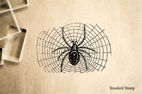 Spider Rubber Stamp