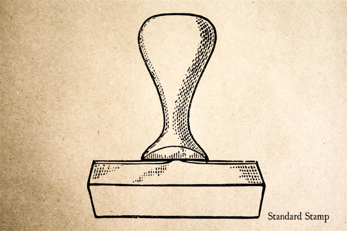 Stamp Handle Rubber Stamp