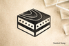 Egg Sushi Nigiri Rubber Stamp