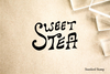 Sweet Tea Rubber Stamp