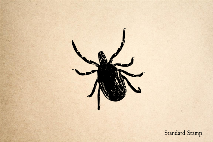 Tick Rubber Stamp
