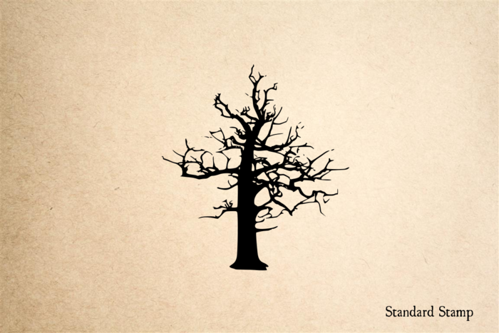 Old Tree Rubber Stamp