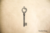 Vintage Skeleton Key Rubber Stamp