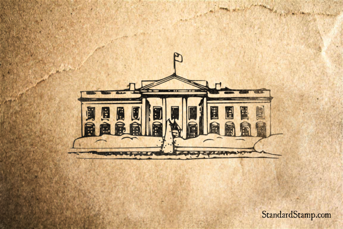 White House Rubber Stamp