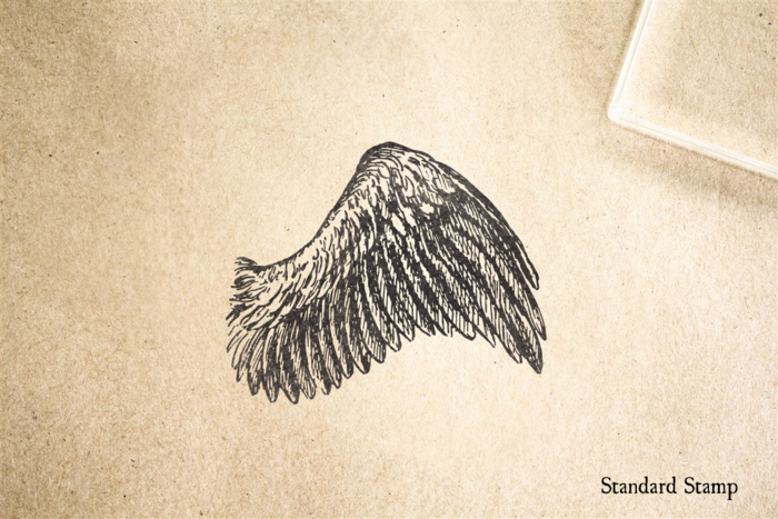 Wing Rubber Stamp