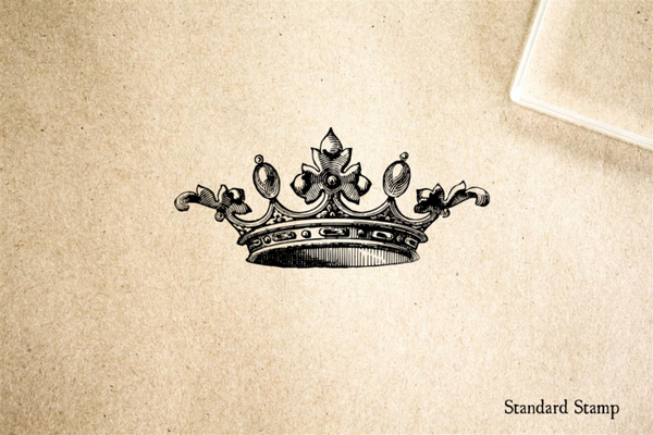 Crown Rubber Stamp Standard Stamp
