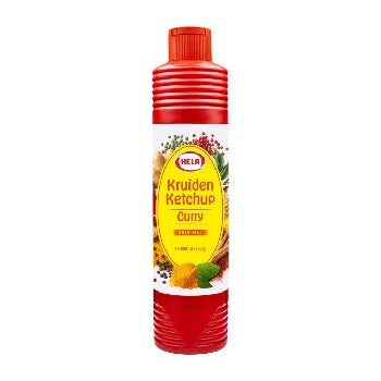 Hela kruiden ketchup curry original 800 ml