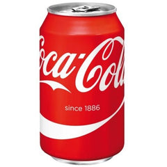 Coca cola regular blik 33 cl