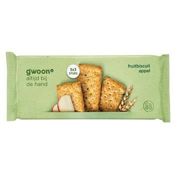Fruitbiscuit appel 218 gram