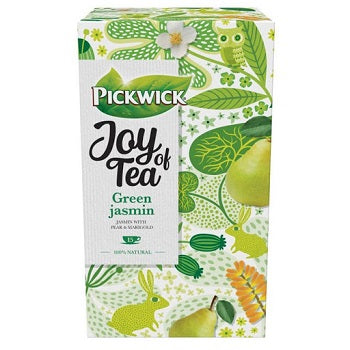 Pickwick joy of tea green jasmin 15 zakjes