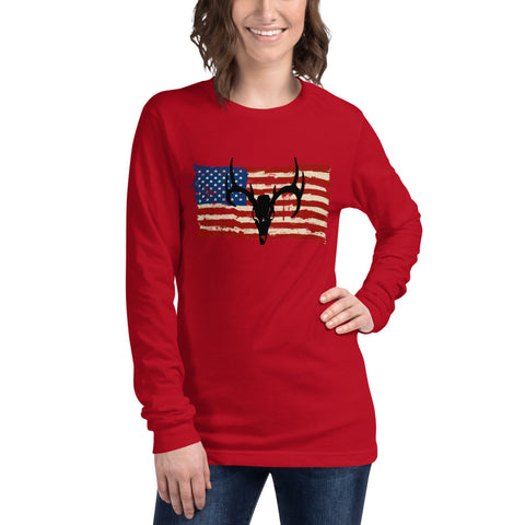 Merica' Series Women's Long Sleeve Tee