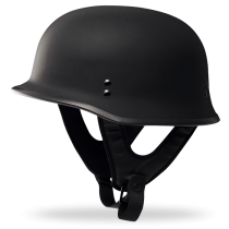 9MM HALF HELMET (MT BLK)