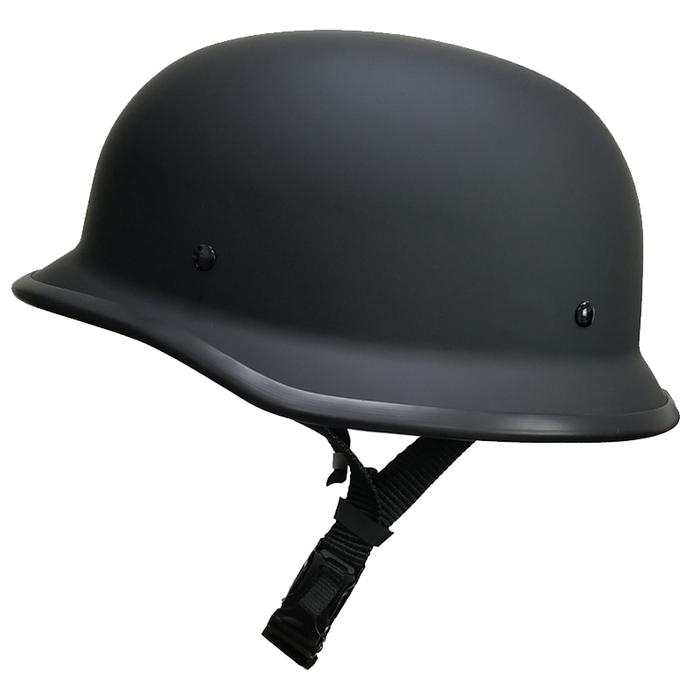 CRAZY AL's GERMAN DOT HELMET-Flat Black