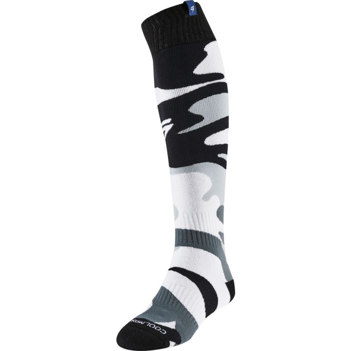 WHIT3 LABEL SOCK - White Camo
