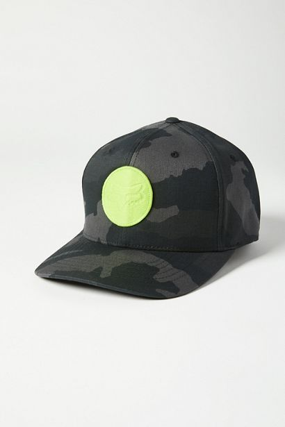 SESSION FLEXFIT HAT-Blk Camo