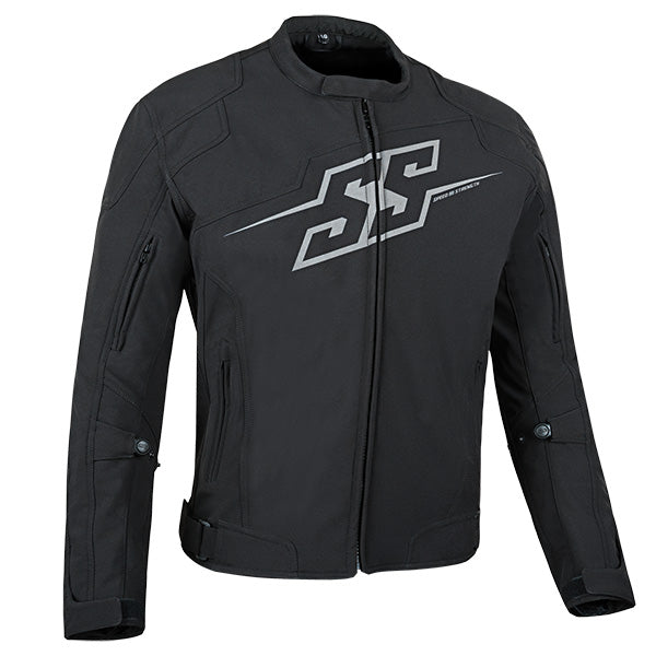 HAMMER DOWN TEXTILE JACKET-Black