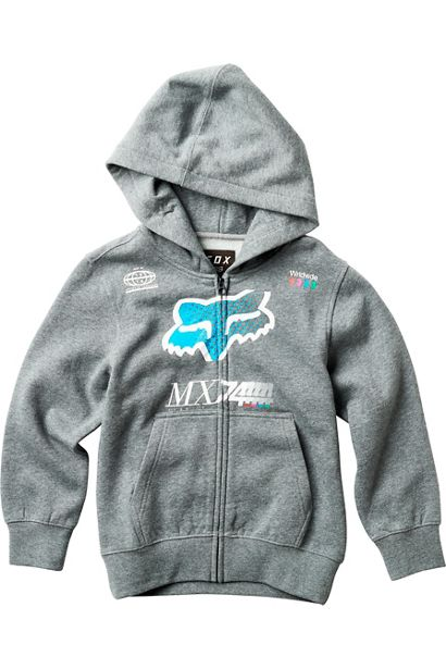 YOUTH BACKDRAFTER ZIP FLEECE