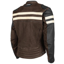Load image into Gallery viewer, ROCKET 67' LEATHER TEXTILE JACKET-Brown