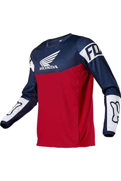 180 HONDA JERSEY-Navy/Red