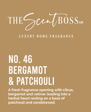 Load image into Gallery viewer, No. 46 - Bergamot & Patchouli