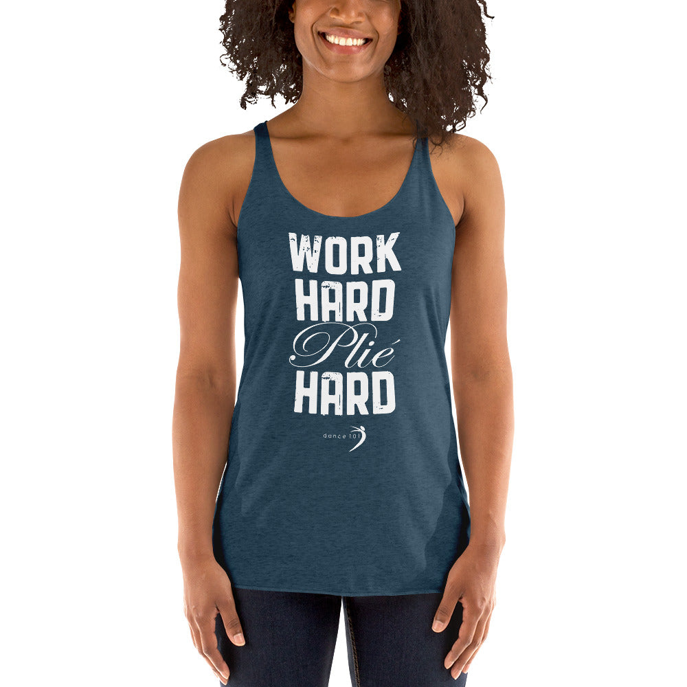 Work Hard Racerback Tank