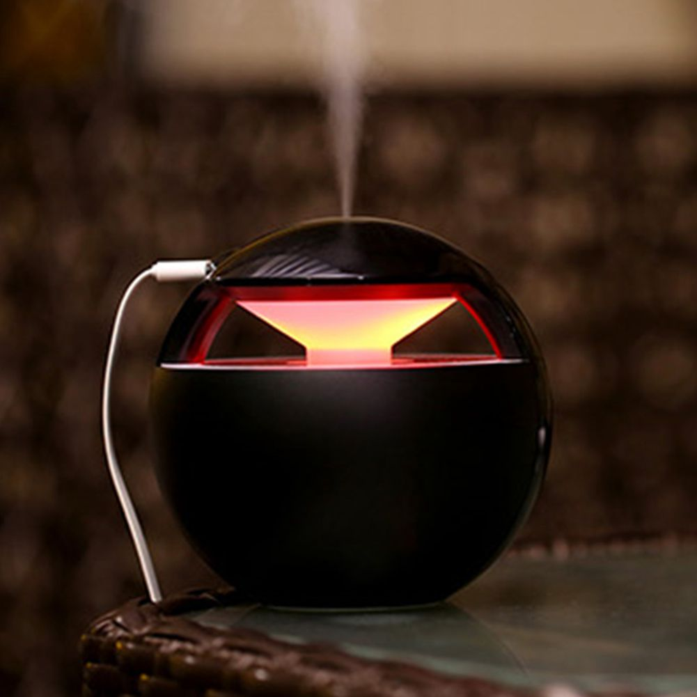 Incense Burner Ball Humidifier with Essential Oil Aroma Lamp