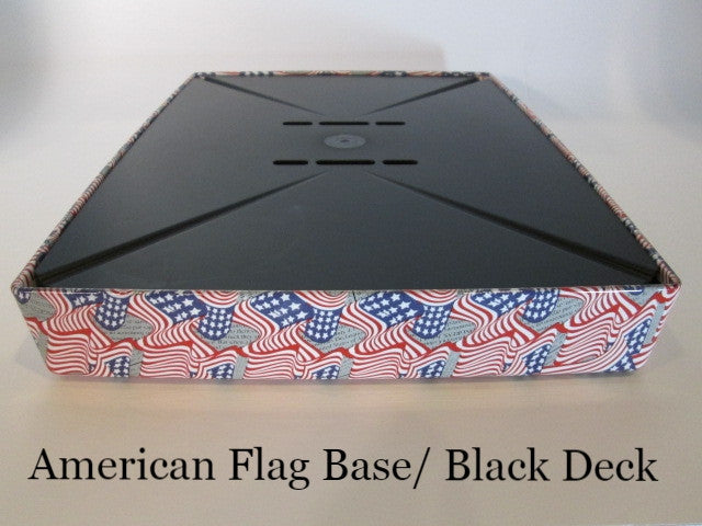 Coffee Station American Flags Black deck