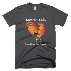 Rooster Tail Band - Mens -  American Apparel Tee Shirt