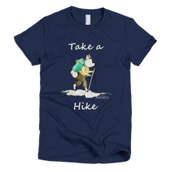 Take A Hike - Women's -  American Apparel Tee Shirt