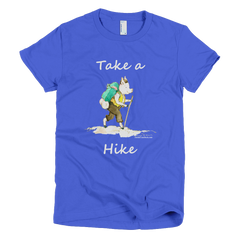 Take A Hike - Men's -  American Apparel Tee Shirt
