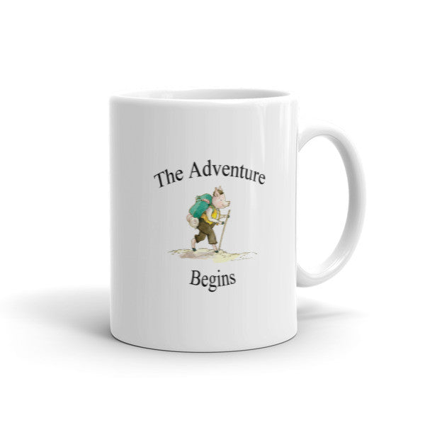 The Adventure Begins - Coffee Mug