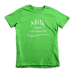 Milk makes your brain go Weeeee - kids t-shirt