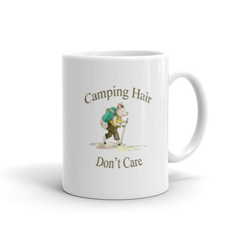 Camping Hair Don't Care - Coffee Mug