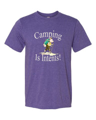 Camping is Intents! - Men's Tee Shirt
