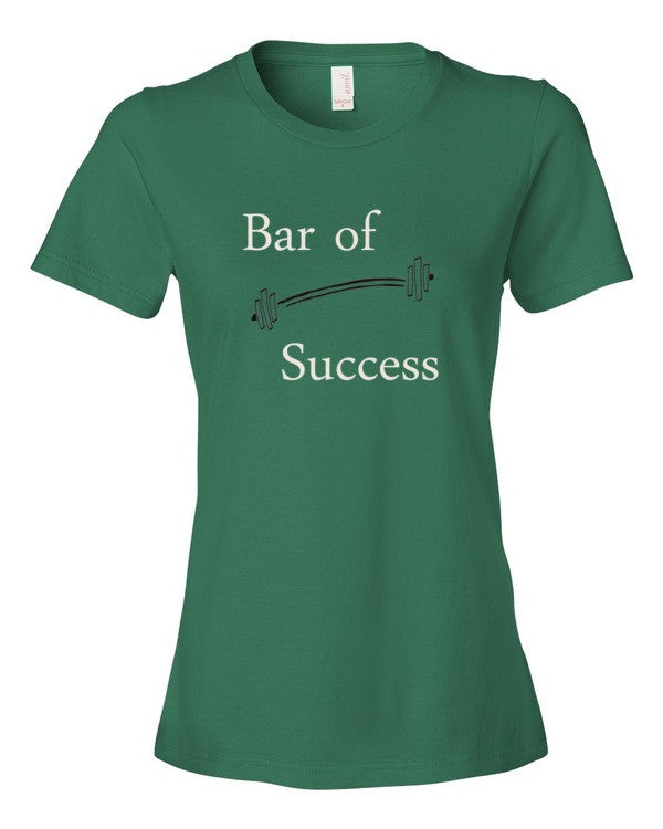 The Bar of Success.  Ladies Tee Shirt