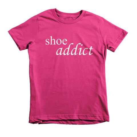 Shoe Addict - kids t-shirt