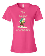 The Great Outdoors - Women's  t-shirt
