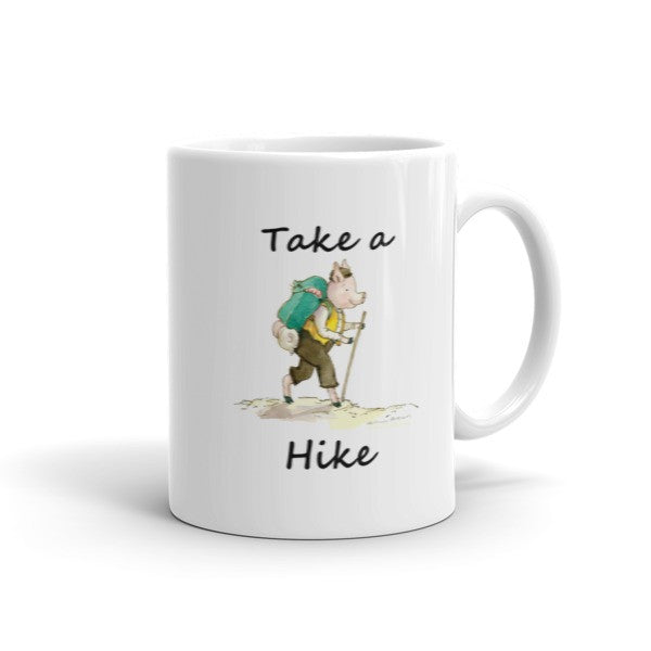 Take a Hike - Coffee Mug